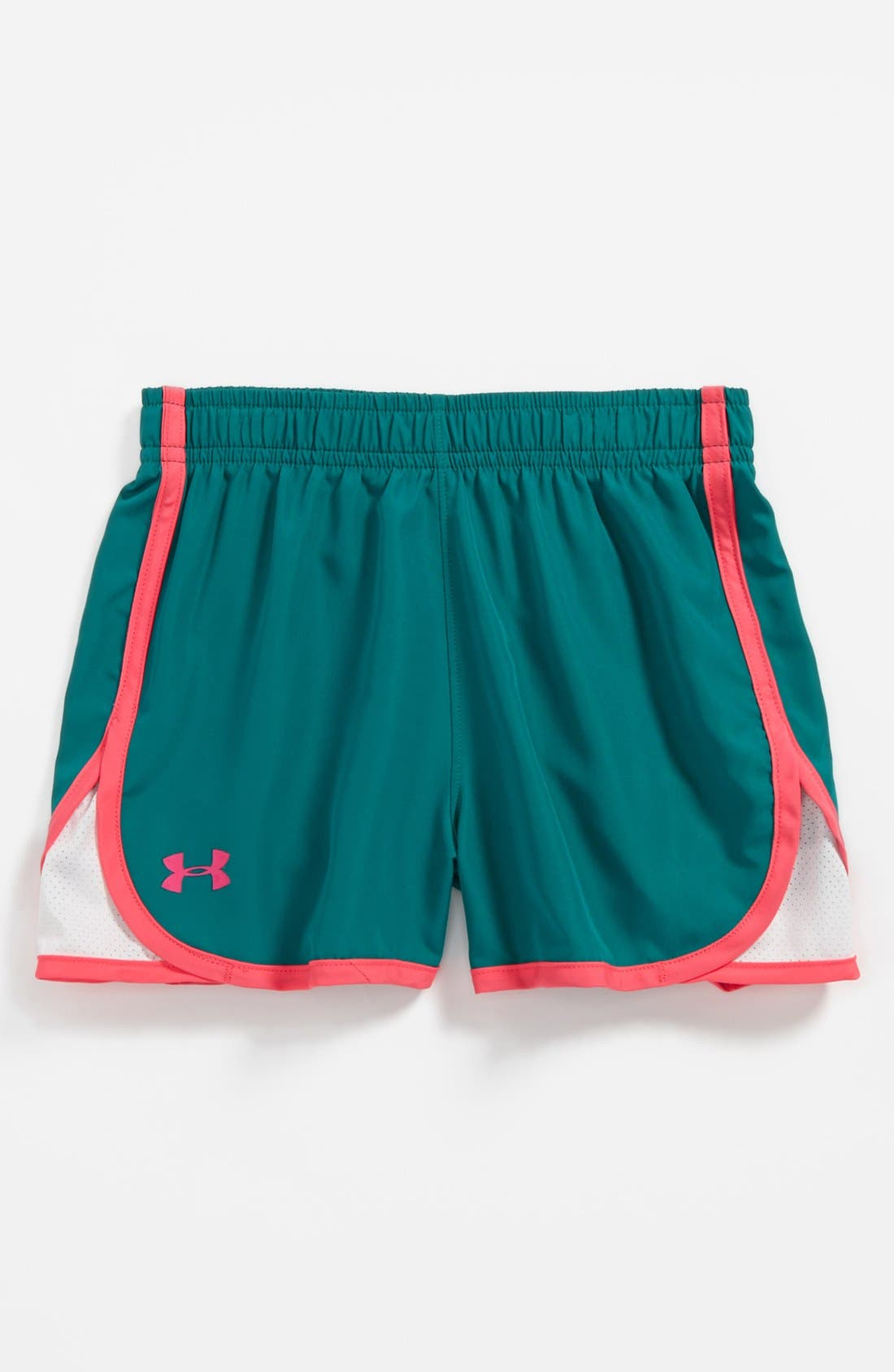 Alternate Image 1 Selected - Under Armour 'Escape' Shorts (Little Girls)