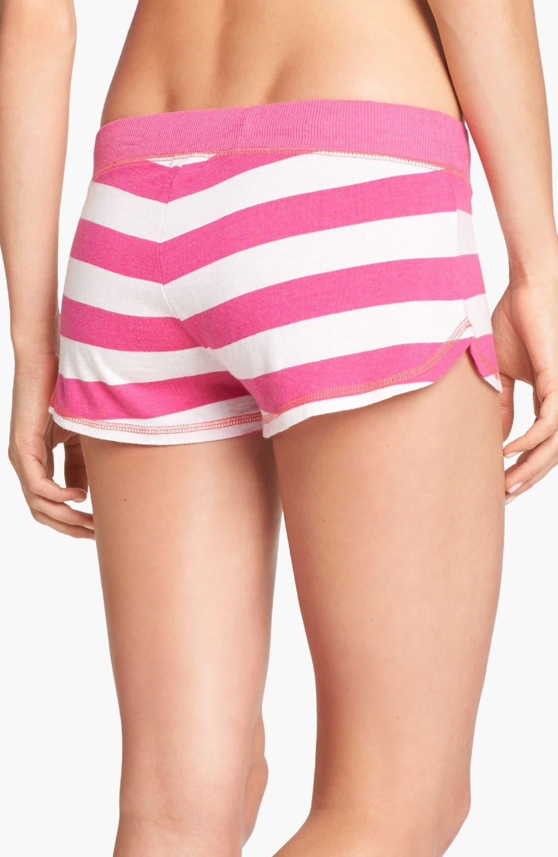 Alternate Image 2  - COZY ZOE Stripe Shorts