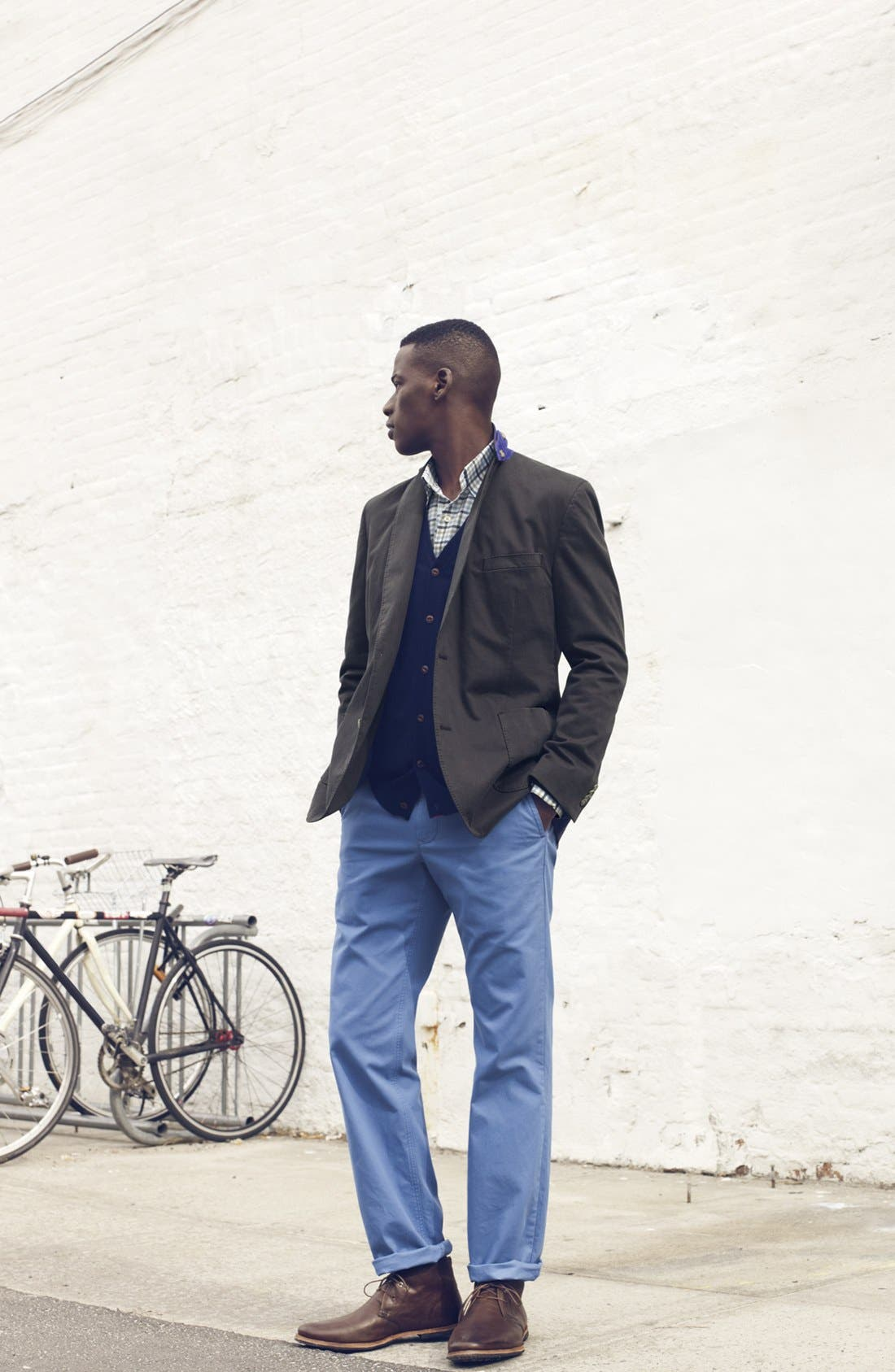 Alternate Image 4  - Kroon Stretch Cotton Sportcoat