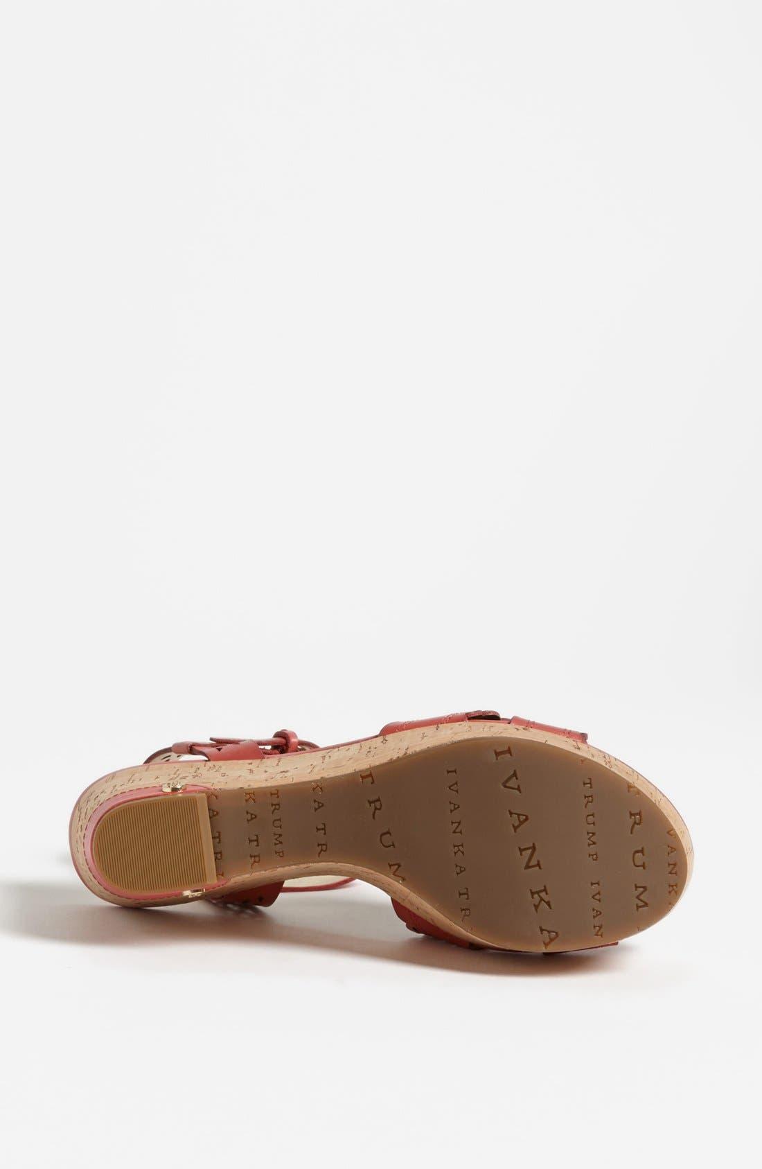 Alternate Image 4  - Ivanka Trump 'Aubrie' Sandal