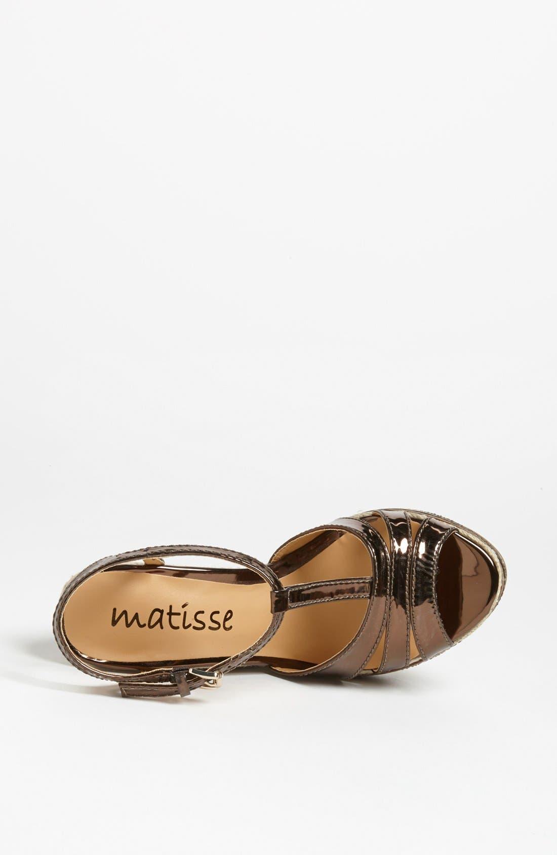 Alternate Image 3  - Matisse 'Palazzo' Sandal
