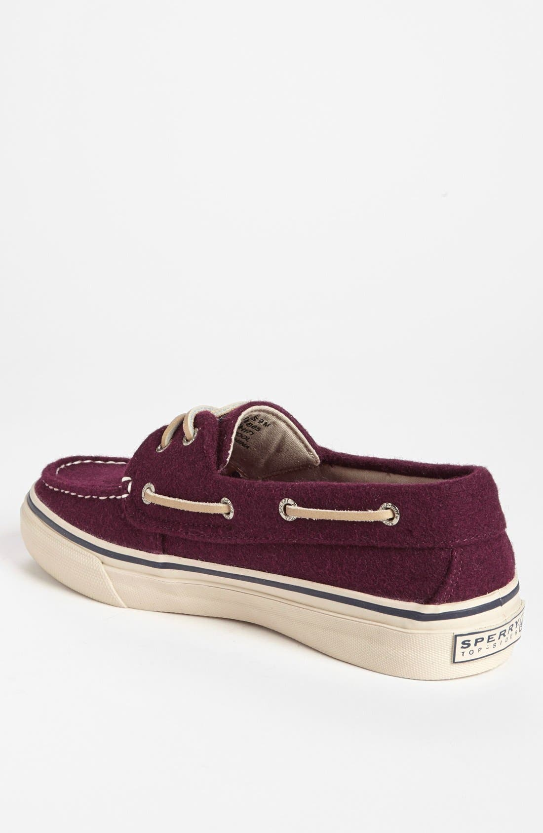 Alternate Image 2  - Sperry Top-Sider® 'Bahama' Wool Boat Shoe