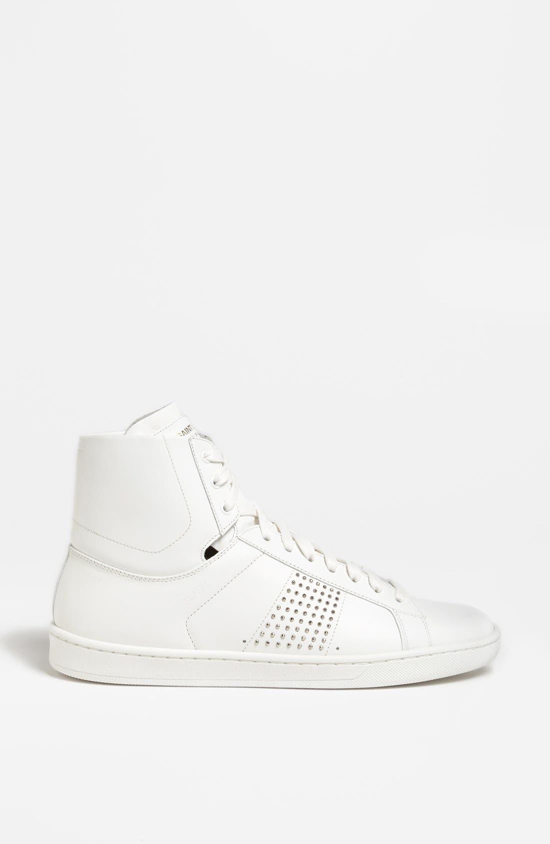 Alternate Image 4  - Saint Laurent High Top Sneaker