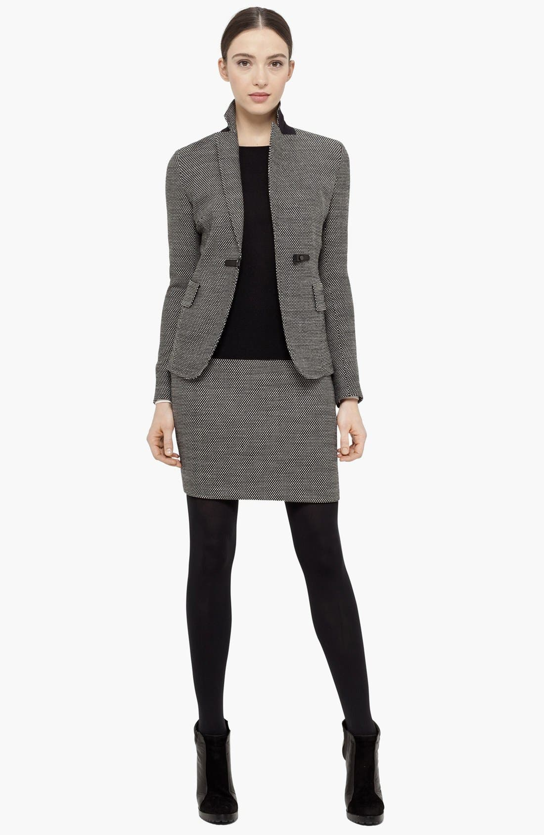 Alternate Image 1 Selected - Akris punto Jacket, Sweater & Miniskirt