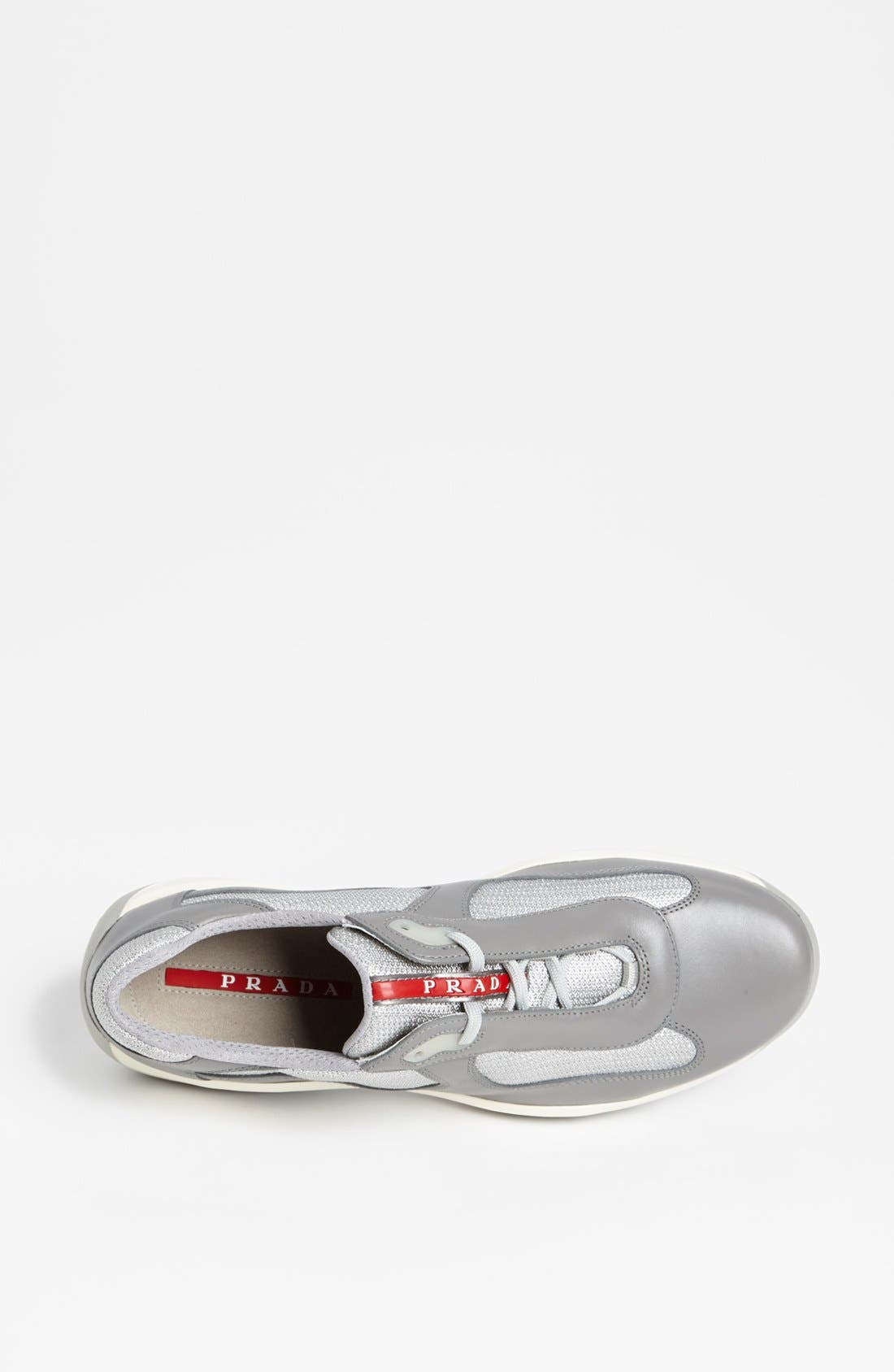 Alternate Image 3  - Prada 'Punta Ala' Mesh & Leather Sneaker (Men)
