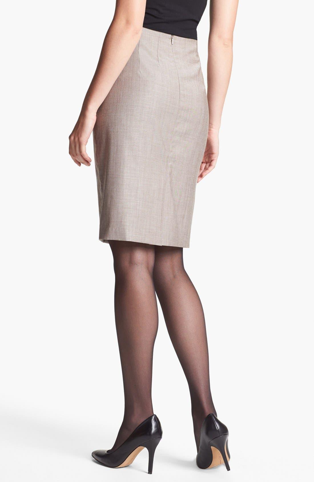 Alternate Image 2  - BOSS HUGO BOSS 'Vilina1' Skirt