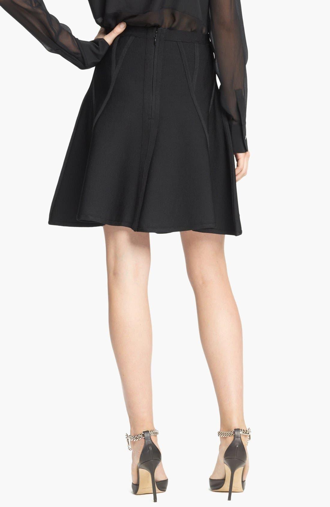 Alternate Image 2  - Herve Leger Full Skirt