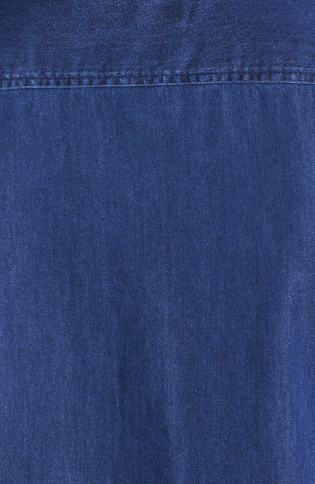 Alternate Image 3  - Topman Indigo Shirt