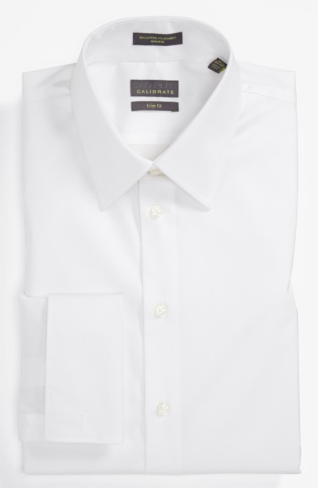 Main Image - Calibrate Trim Fit Non Iron Dress Shirt