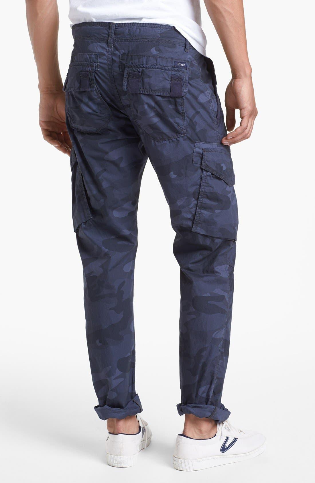 Alternate Image 2  - Union 'Duke 2' Camo Straight Leg Cargo Pants