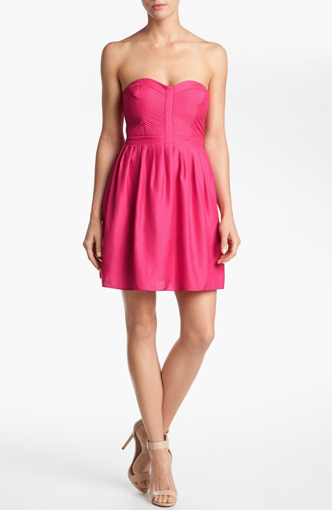 Alternate Image 1 Selected - Devlin Strapless Dress