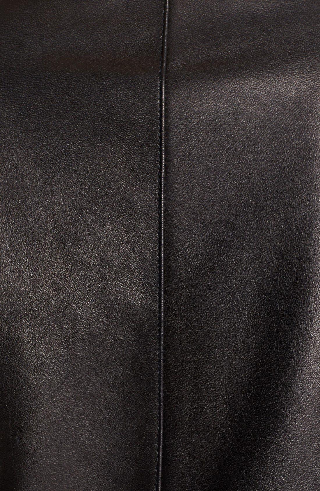 Alternate Image 3  - Paige Denim 'Sacha' Leather Jacket