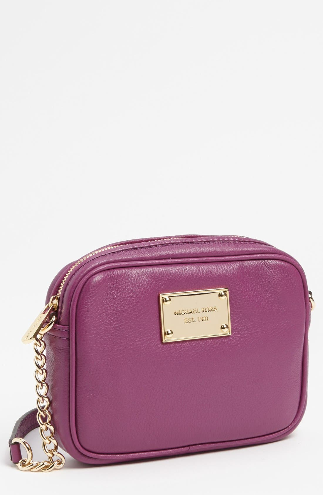 Alternate Image 1 Selected - MICHAEL Michael Kors 'Jet Set' Crossbody Bag