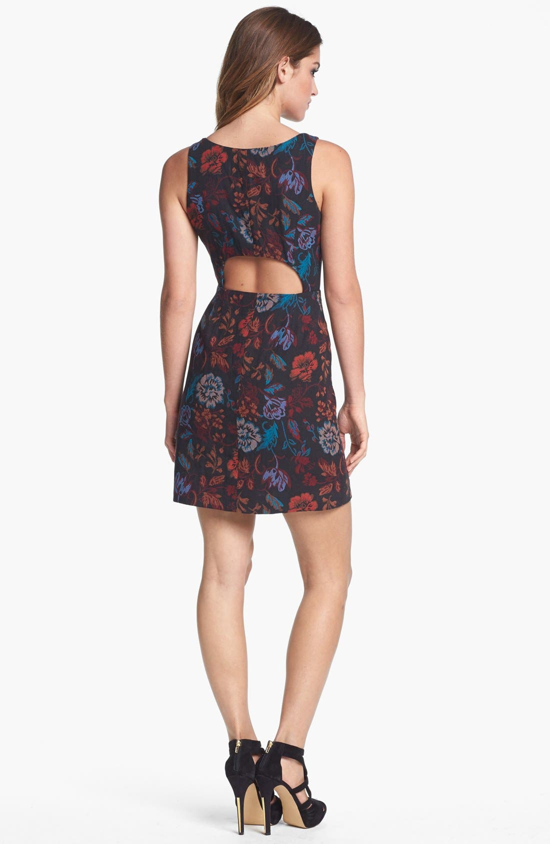 Alternate Image 2  - BB Dakota 'Leona' Brocade Cotton Sheath Dress