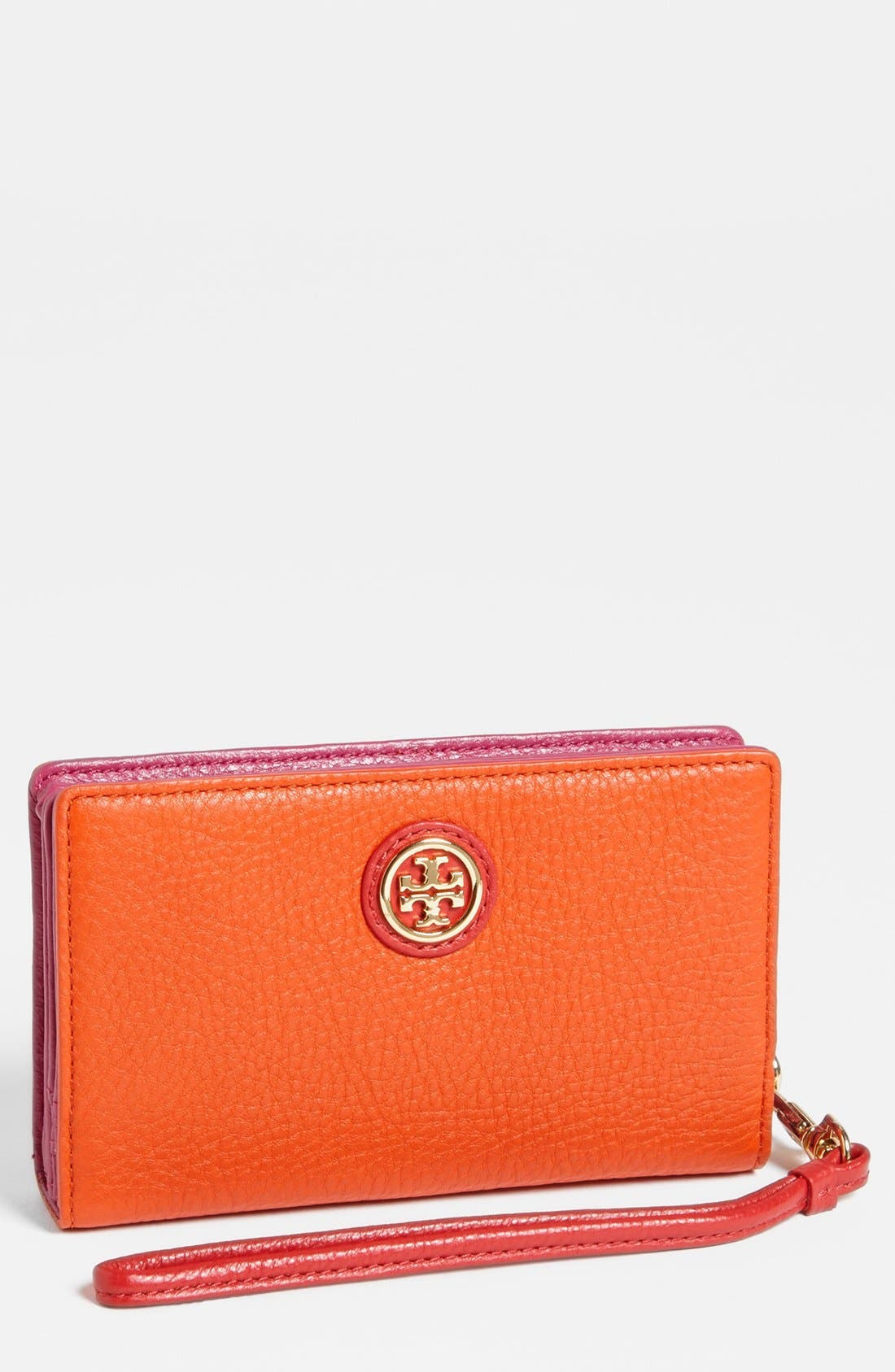 Alternate Image 1 Selected - Tory Burch 'Clay' Smartphone Wristlet