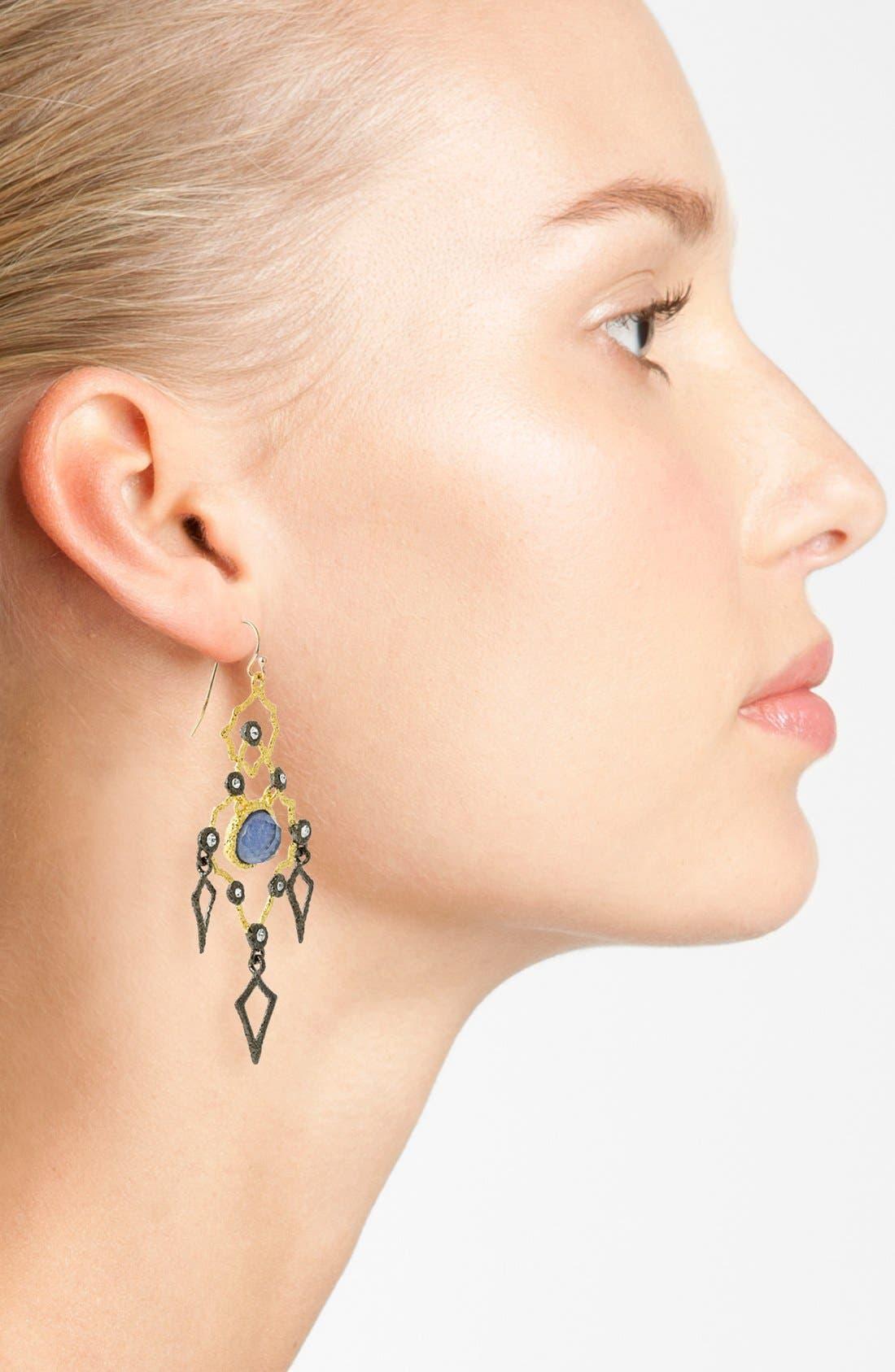 Alternate Image 2  - Alexis Bittar 'Elements - Jardin de Papillon' Chandelier Earrings