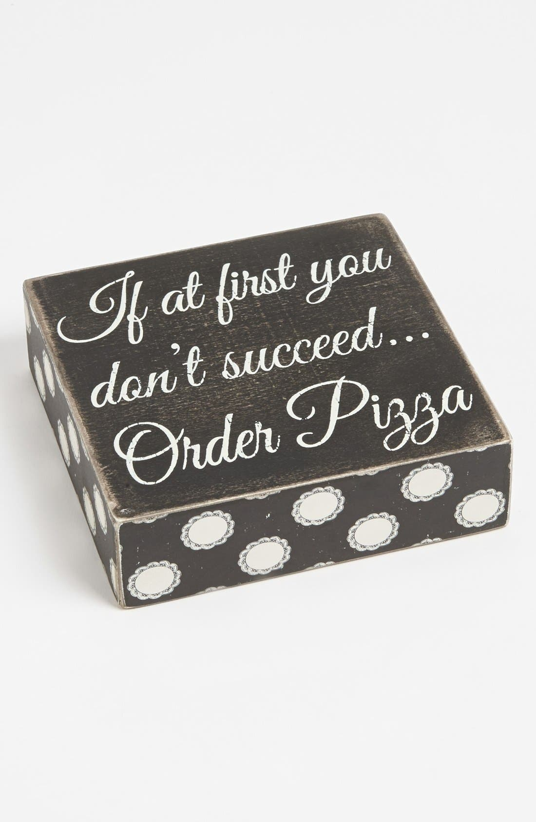 Main Image - Primitives by Kathy 'If at First You Don't Succeed' Box Sign
