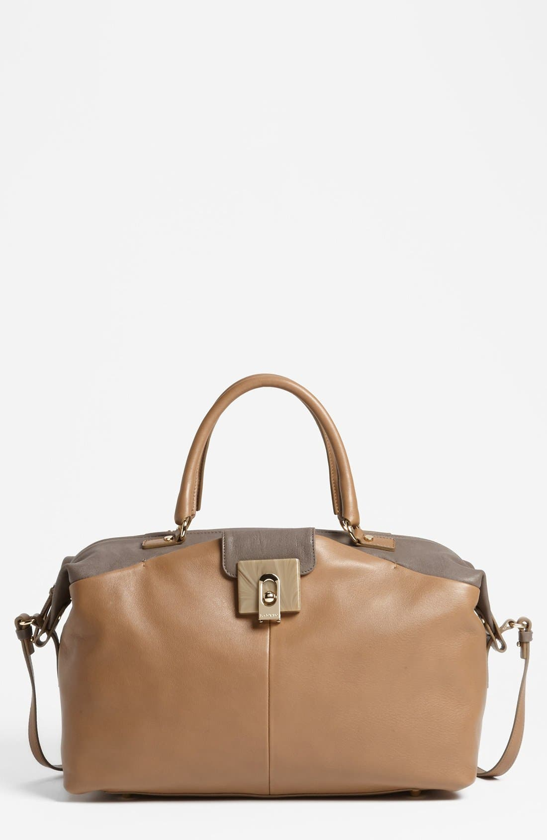 Alternate Image 1 Selected - Lanvin 'For Me - Large' Leather Tote