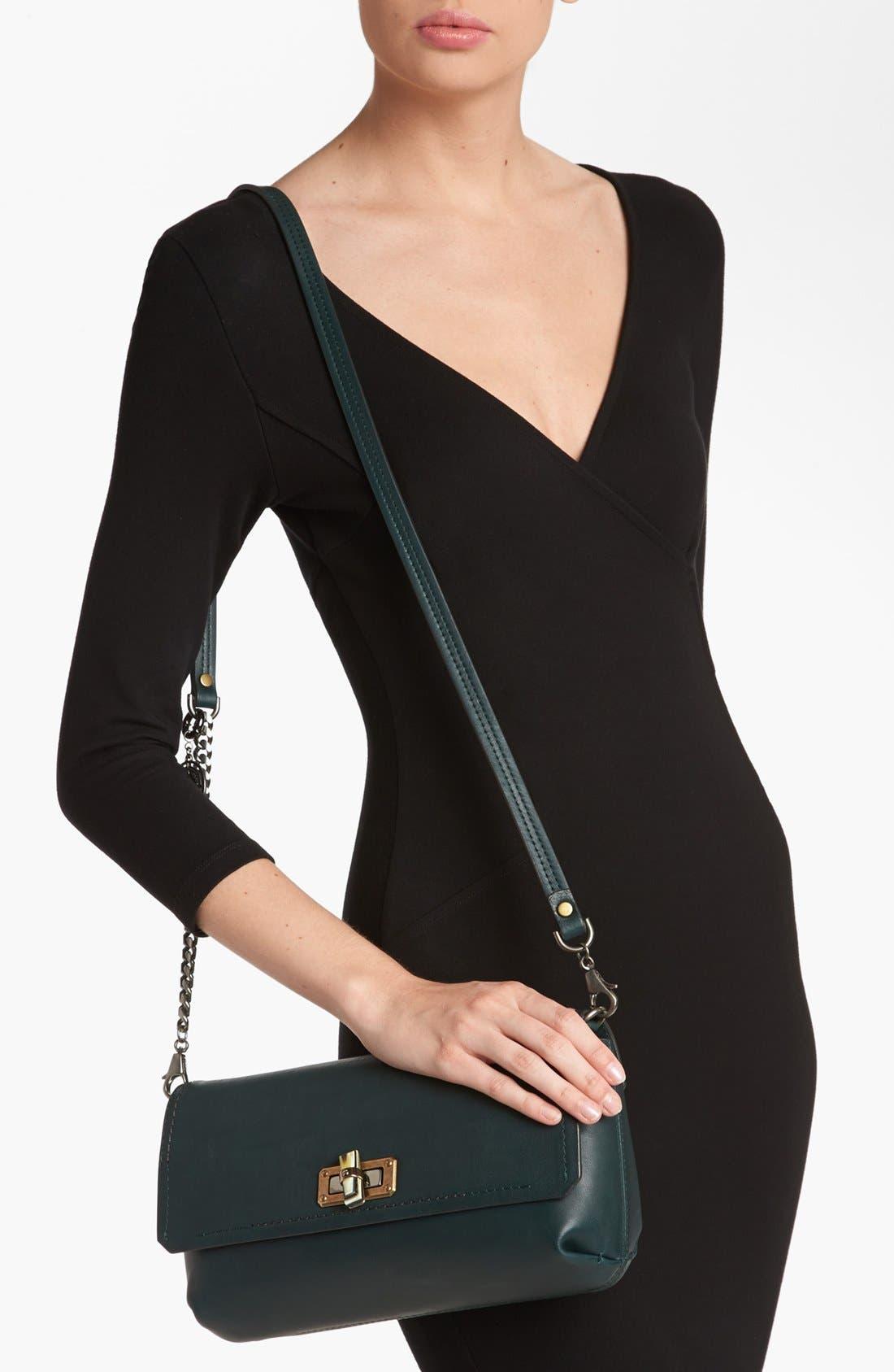 Alternate Image 2  - Lanvin 'Happy' Leather Crossbody Bag