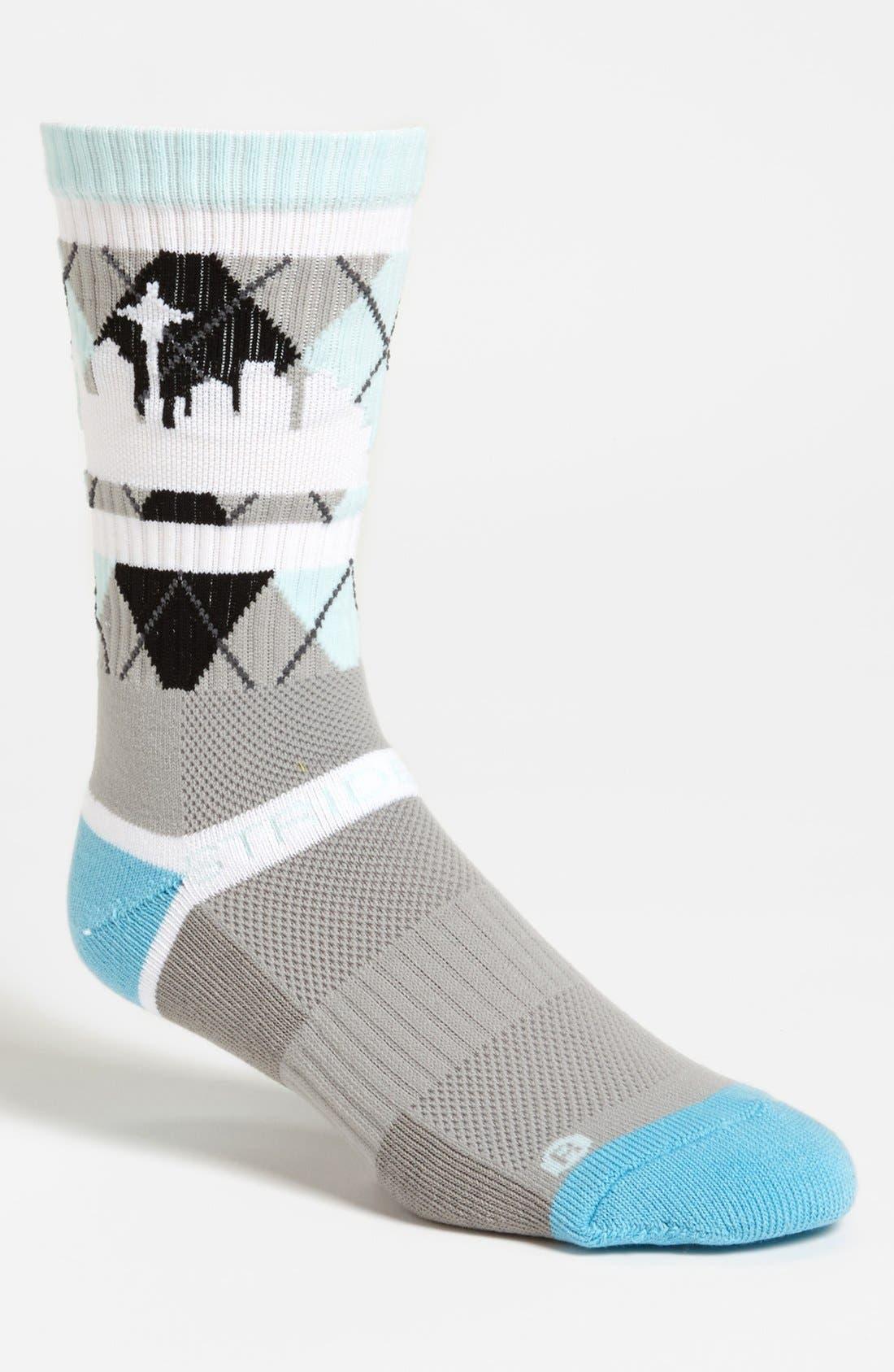 Alternate Image 1 Selected - STRIDELINE 'Seattle' Socks