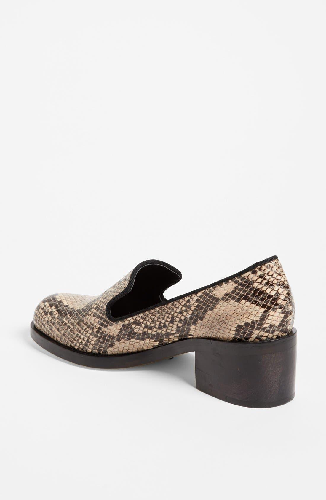 Alternate Image 2  - Stella McCartney Python Print Loafer