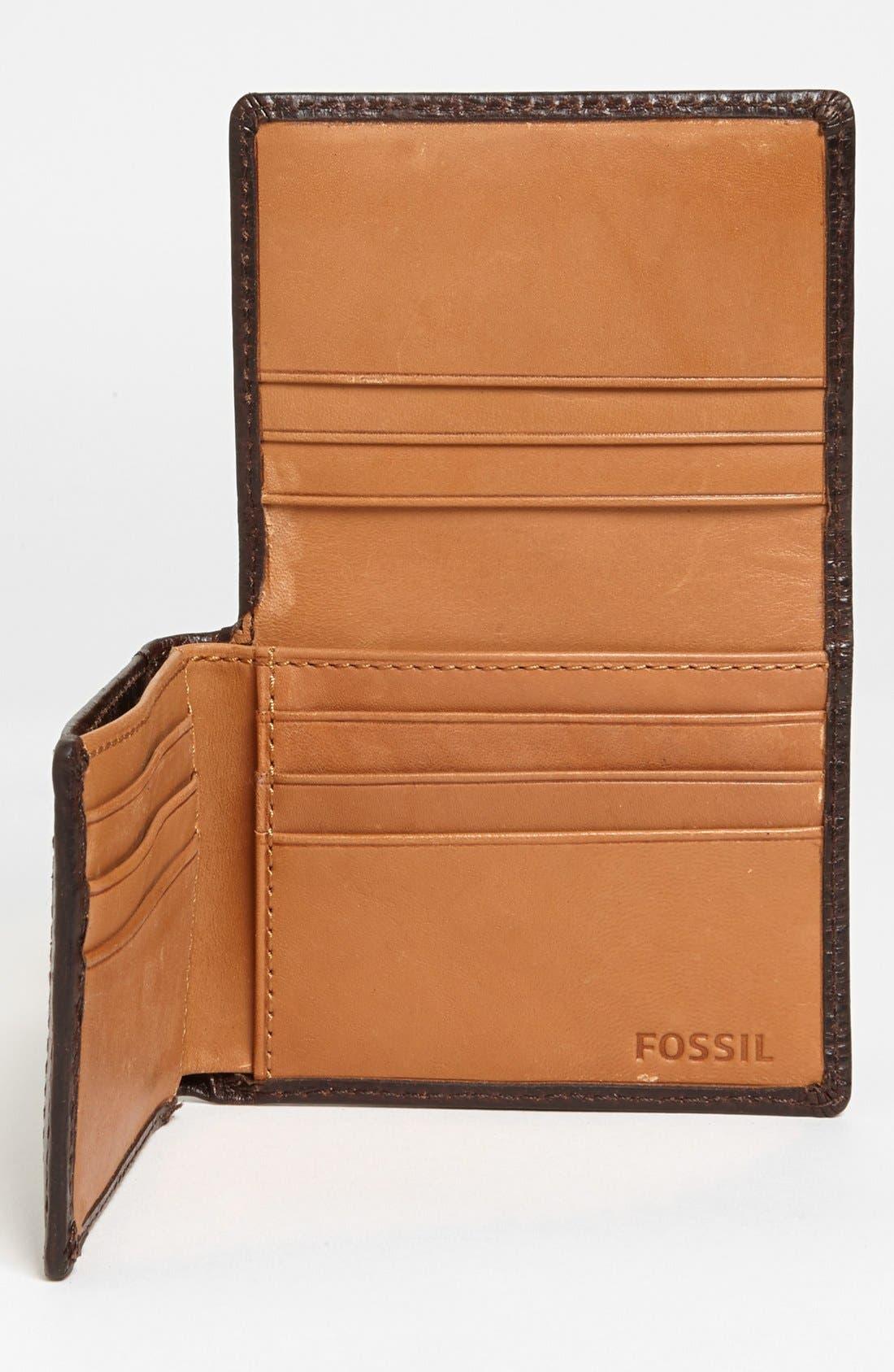 Alternate Image 2  - Fossil 'Keaton' Execufold Wallet