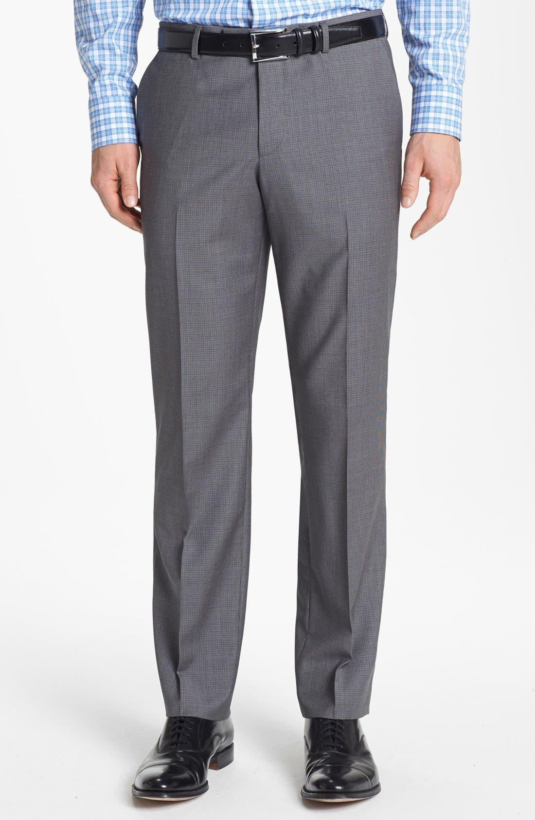 Alternate Image 5  - BOSS HUGO BOSS 'James/Sharp' Trim Fit Houndstooth Suit