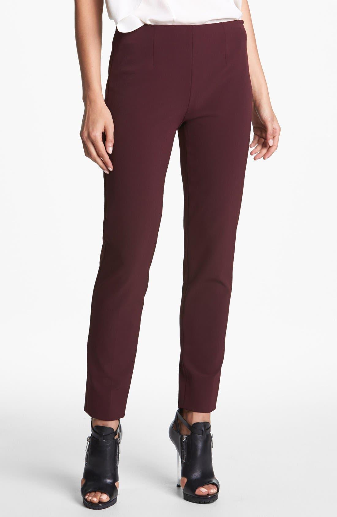 Alternate Image 1 Selected - Theory 'Belisa' Woven Pants