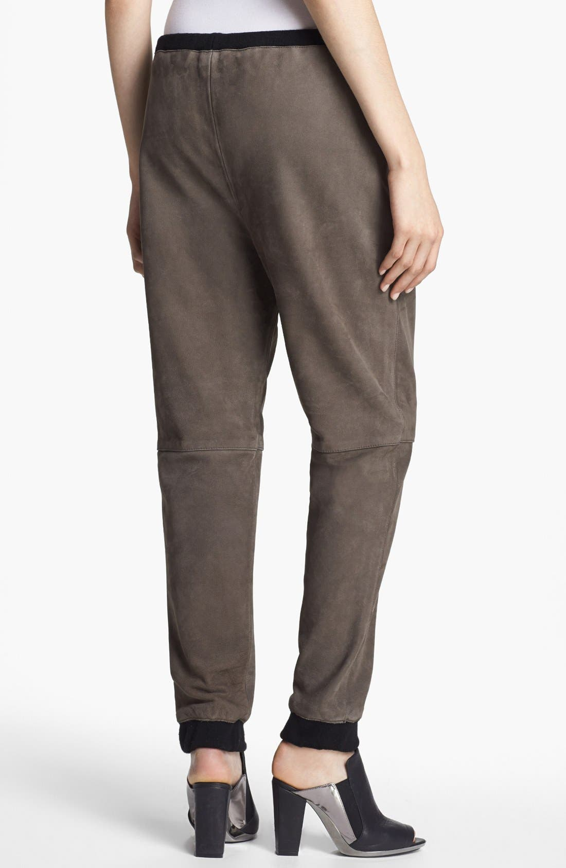Alternate Image 3  - 3.1 Phillip Lim Oversized Leather Track Pants