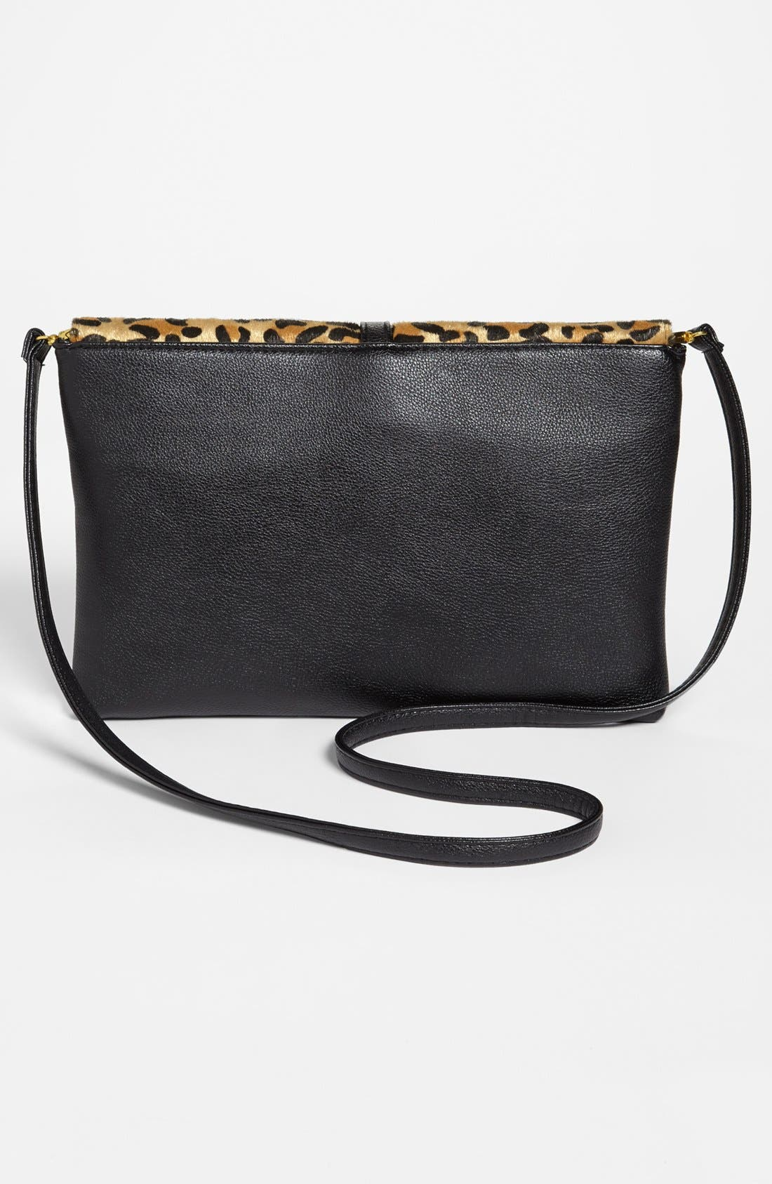 Alternate Image 4  - Natasha Couture Leopard Print Shoulder Bag