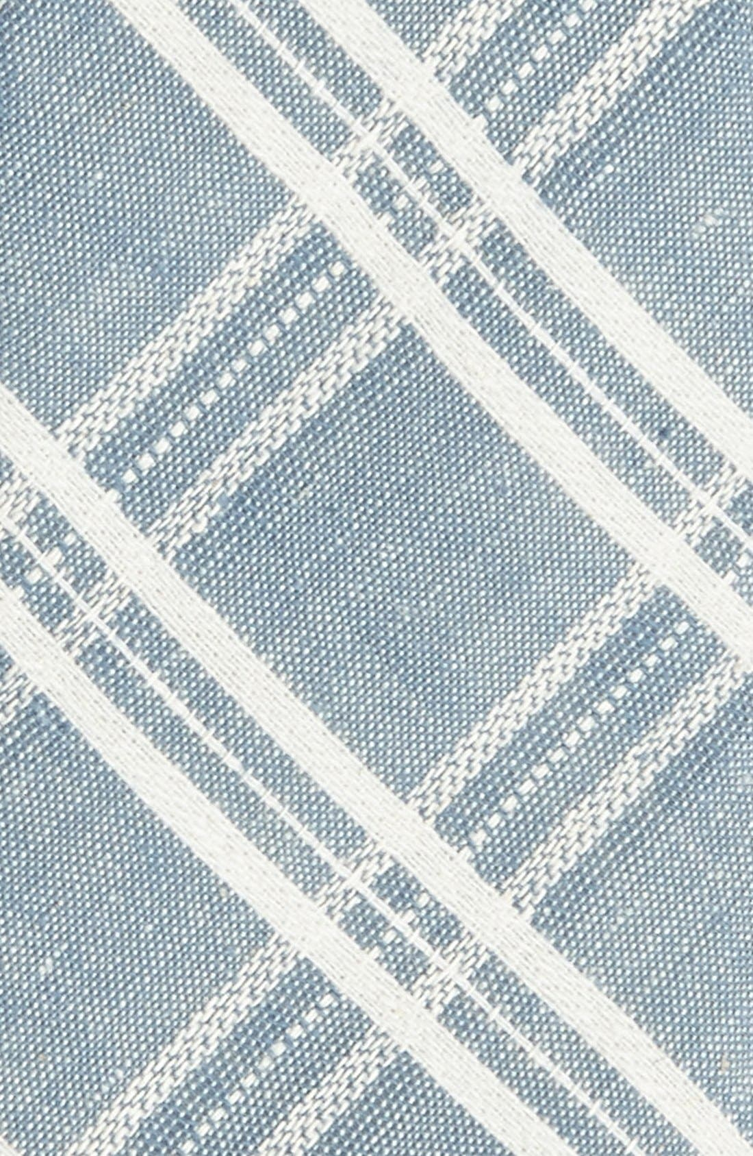 Alternate Image 2  - Topman Check Chambray Tie