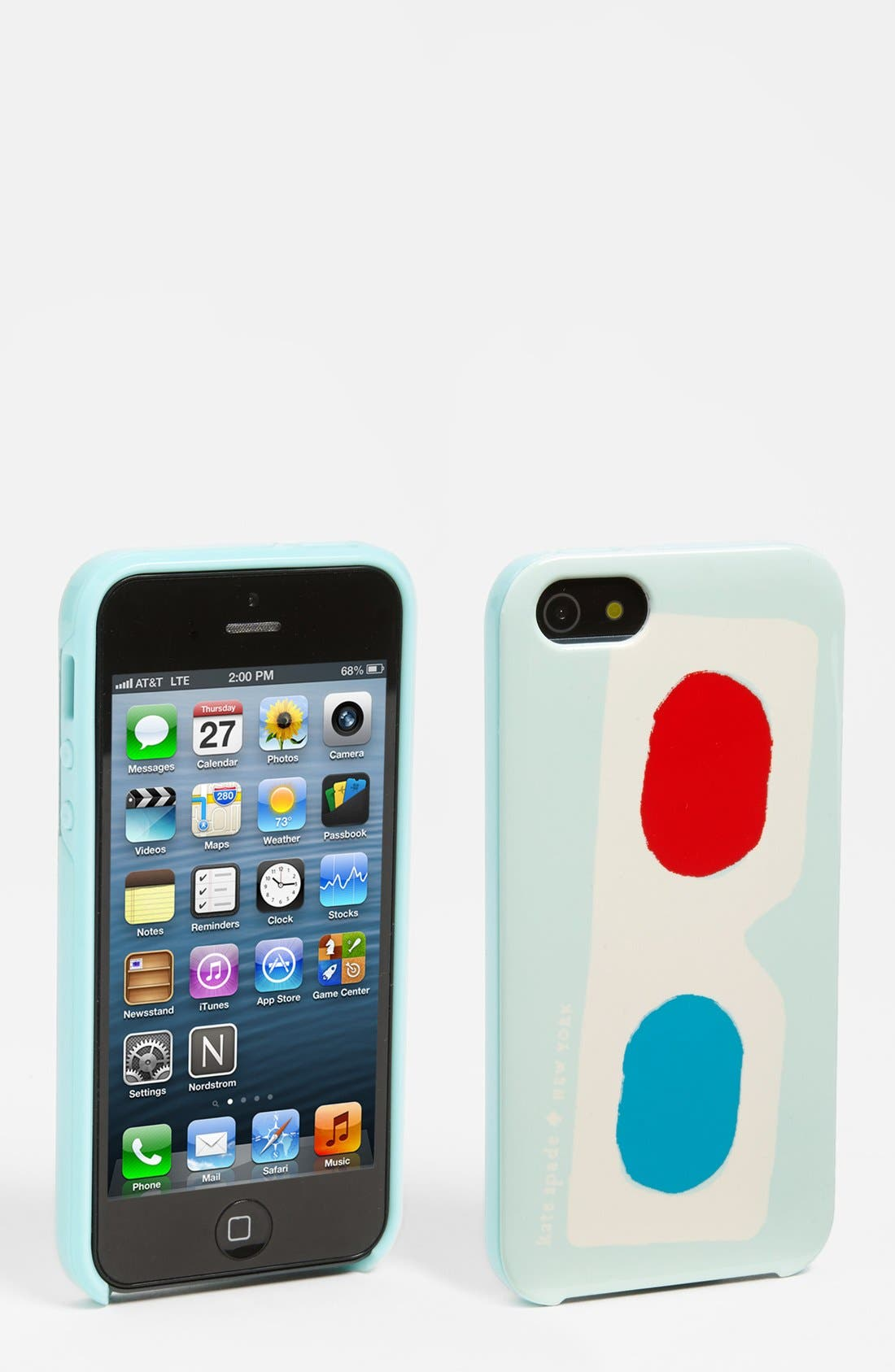 Alternate Image 1 Selected - kate spade new york '3d glasses' iPhone 5 & 5S case