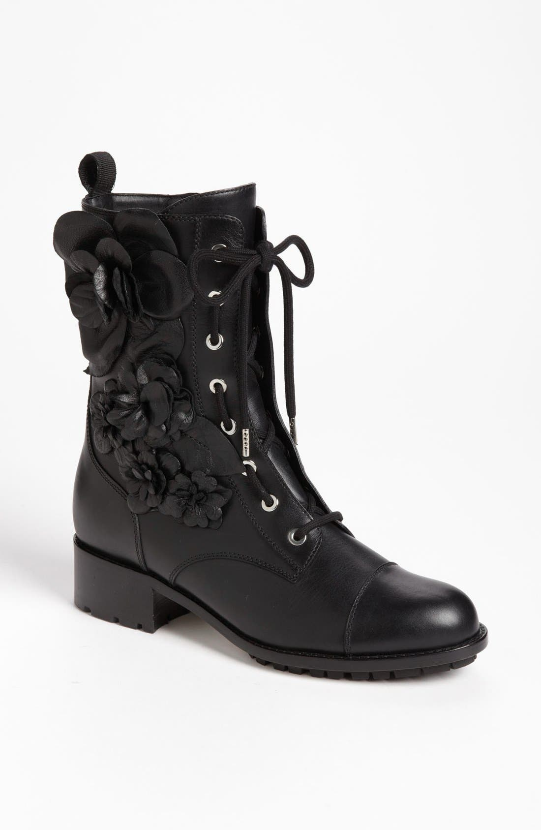 Alternate Image 1 Selected - Valentino 'Tecno Couture' Combat Boot