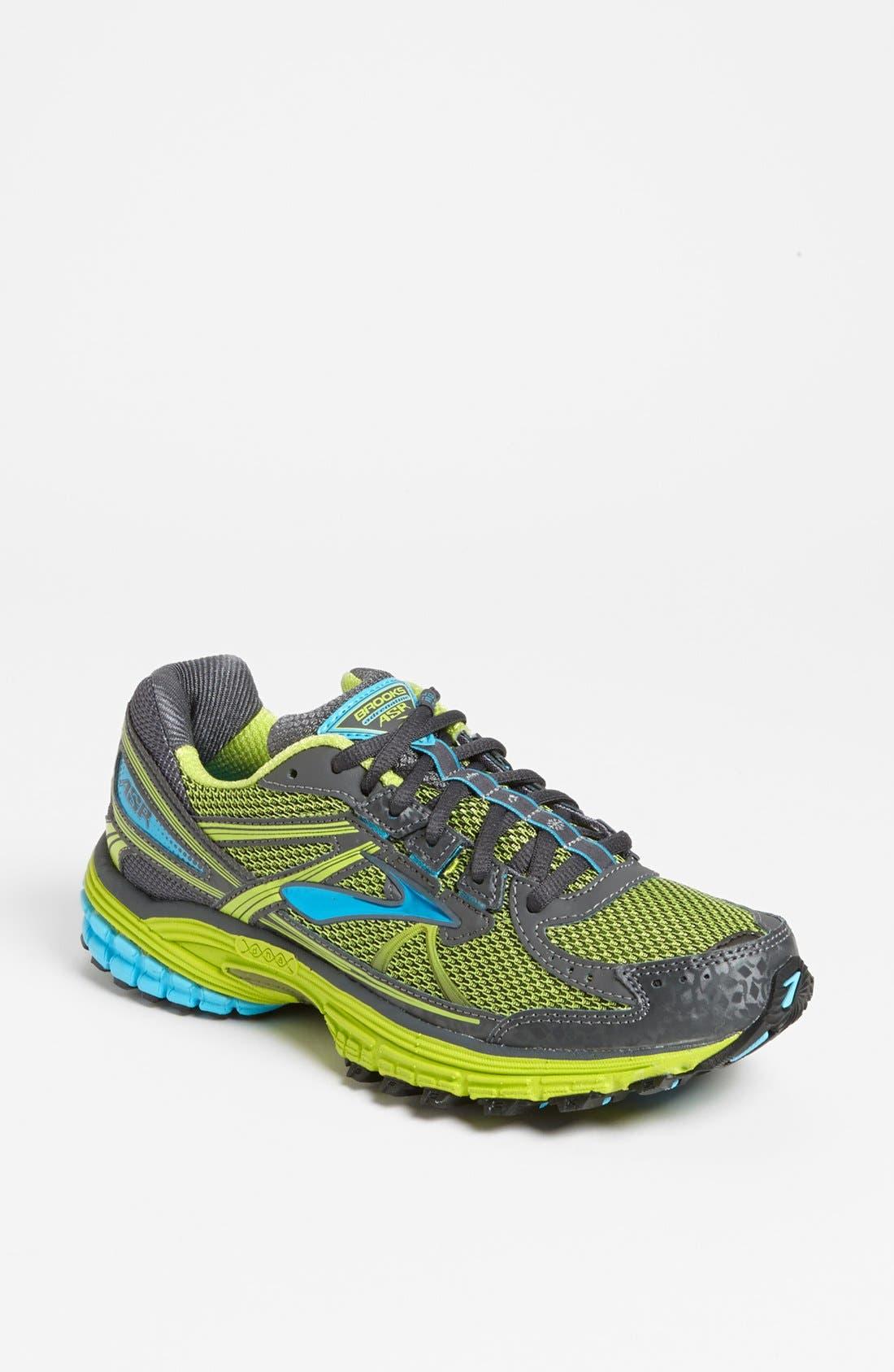 Main Image - Brooks 'Adrenaline ASR 10' Trail Running Shoe (Women)