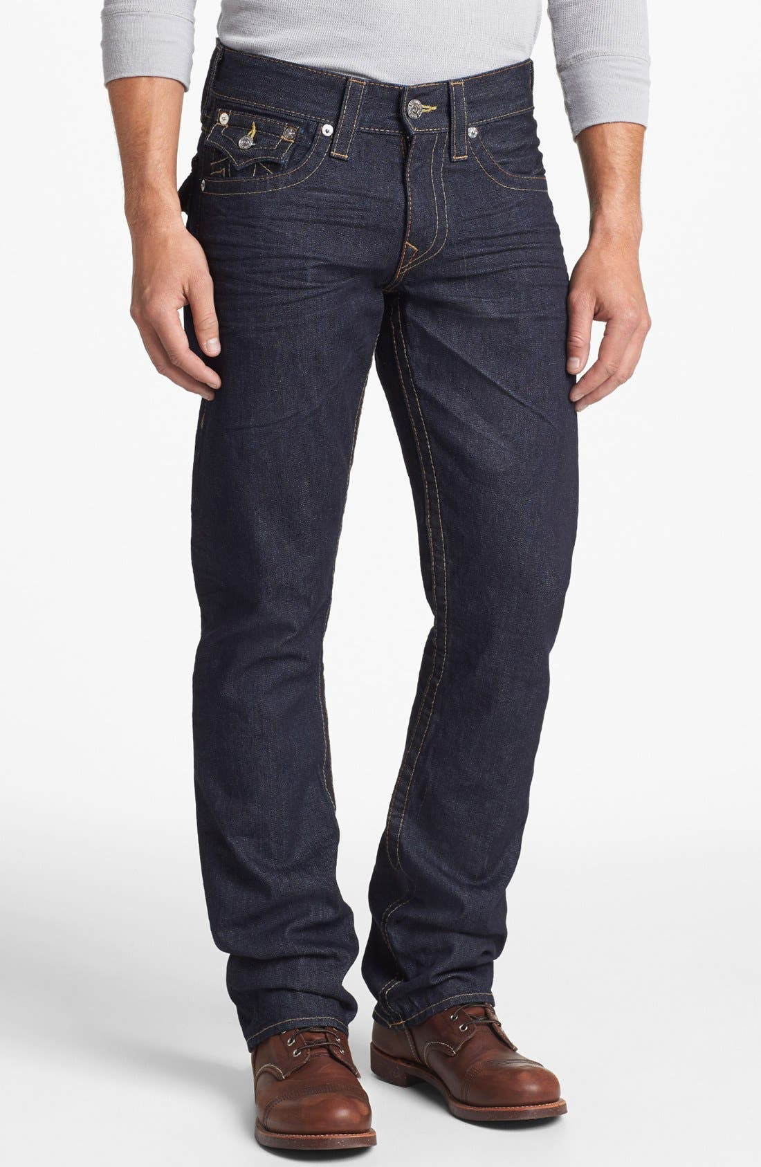 Alternate Image 2  - True Religion Brand Jeans 'Ricky' Relaxed Fit Jeans (Inglorious)