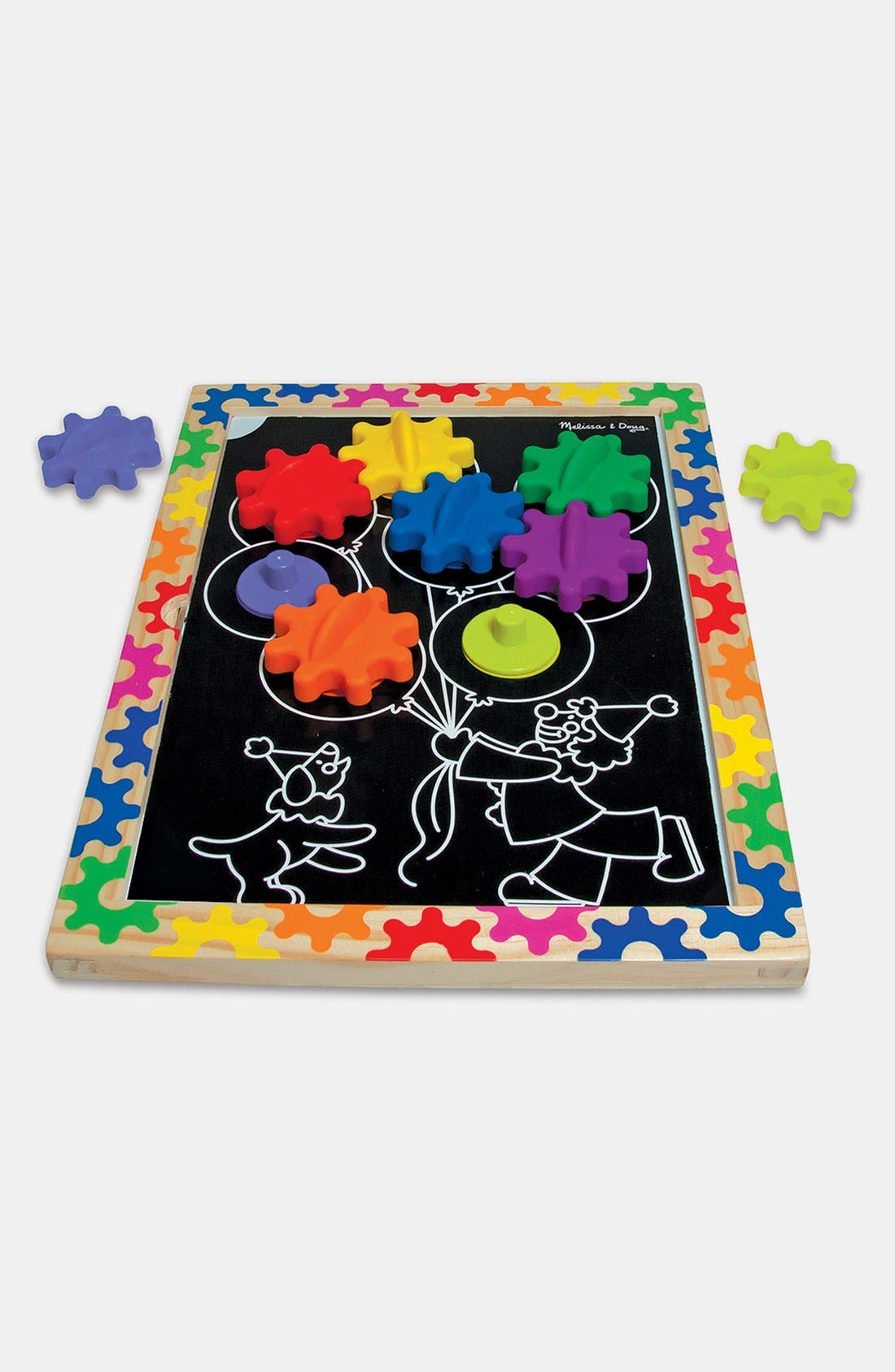 Alternate Image 2  - Melissa & Doug 'Switch & Spin' Magnetic Gear Board