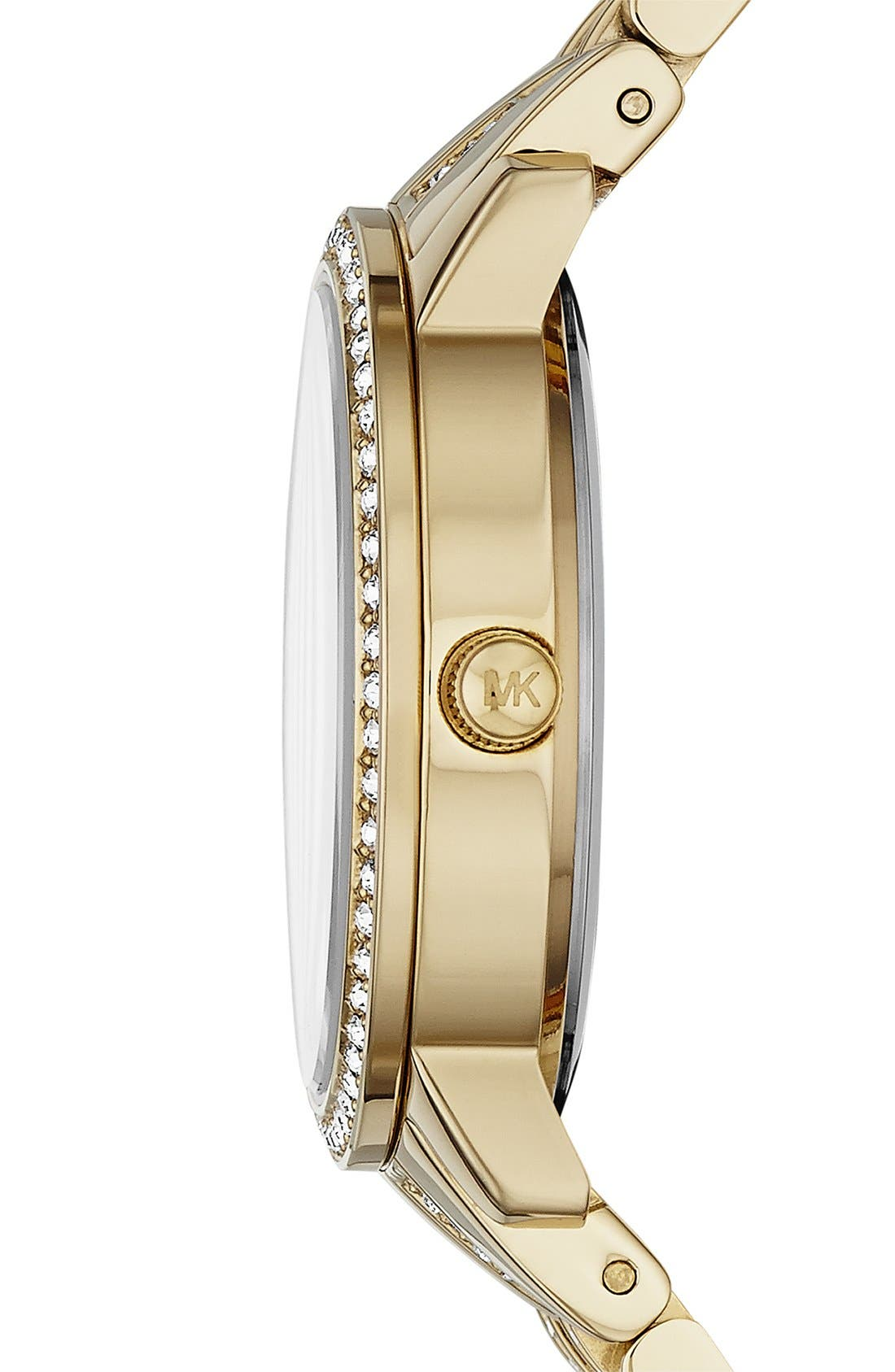 Alternate Image 3  - Michael Kors 'Lady Nini' Round Bracelet Watch, 35mm