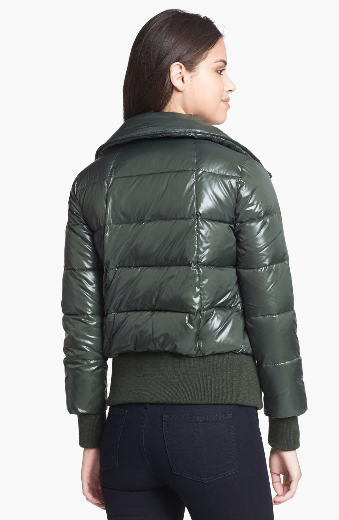 Alternate Image 2  - BB Dakota Cire Shell Quilted Jacket
