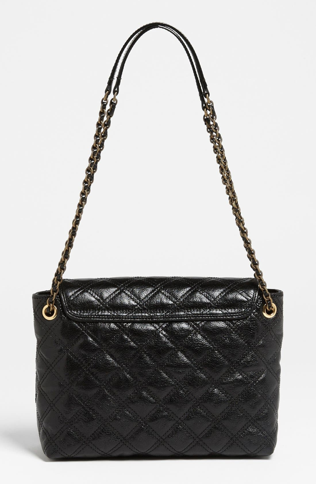 Alternate Image 4  - MARC JACOBS 'Baroque Single - Large' Leather Shoulder Bag
