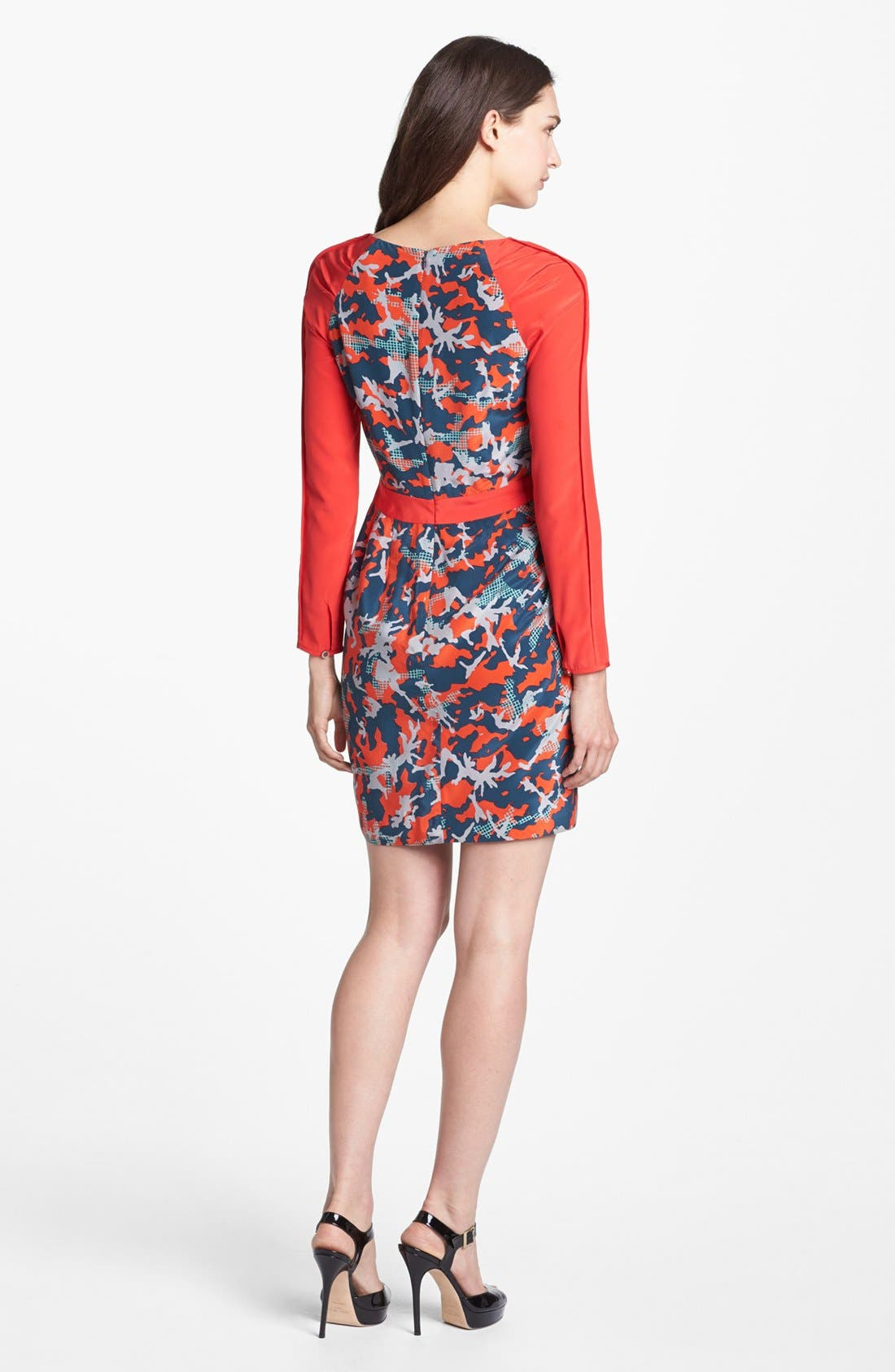 Alternate Image 2  - Rebecca Minkoff 'Sacramento' Silk Sheath Dress