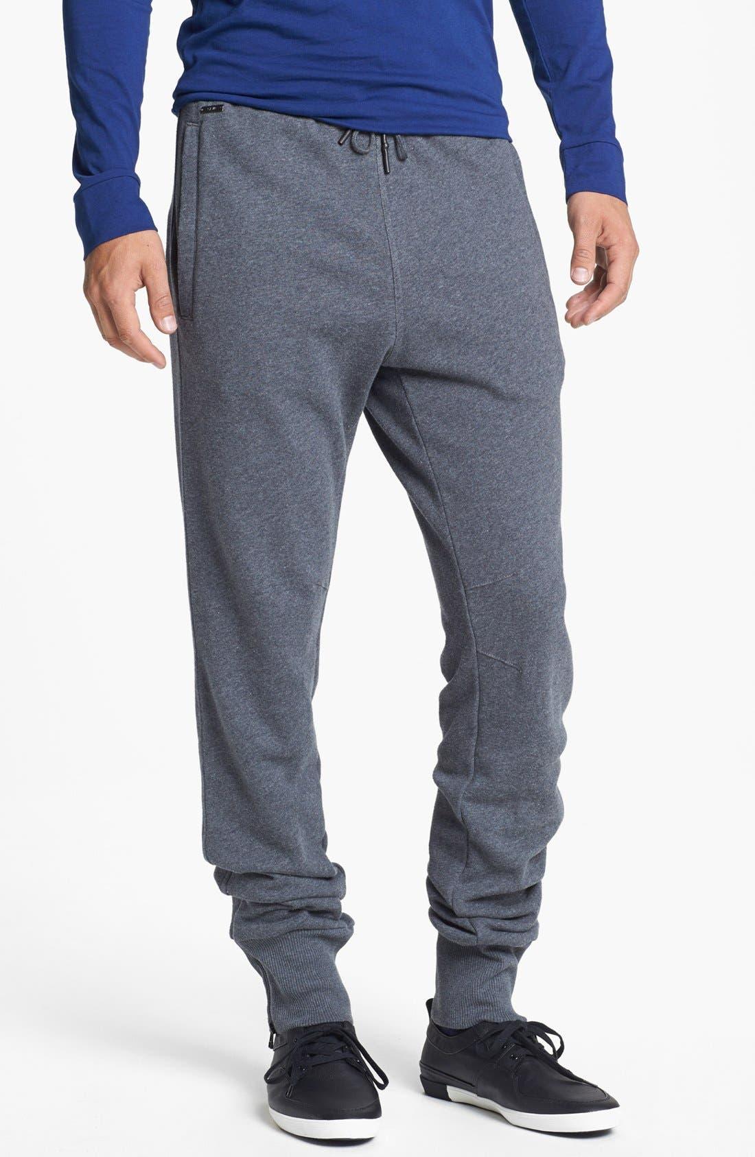 Alternate Image 1 Selected - adidas SLVR Slim Fit Pants