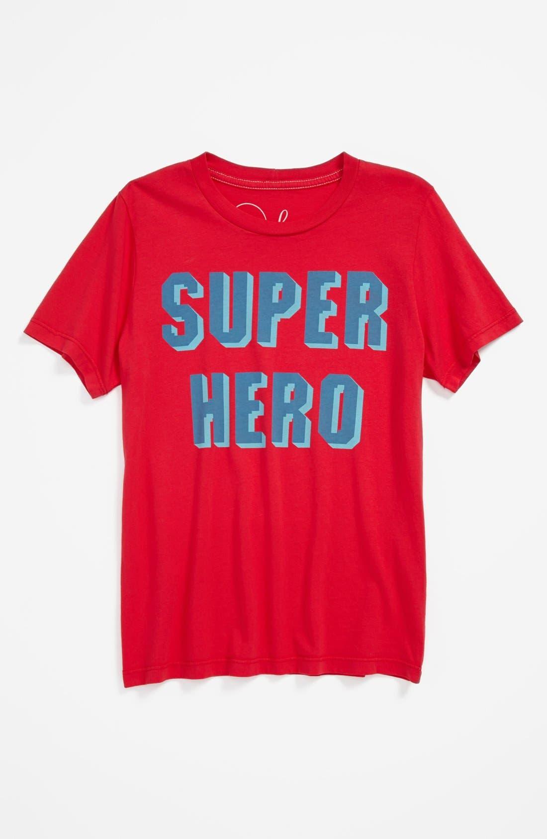 Main Image - Peek 'Superhero' T-Shirt (Baby Boys)