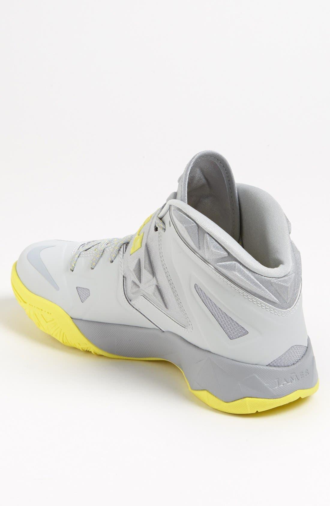 Alternate Image 2  - Nike 'Lebron Zoom Soldier VII' Basketball Shoe (Men)