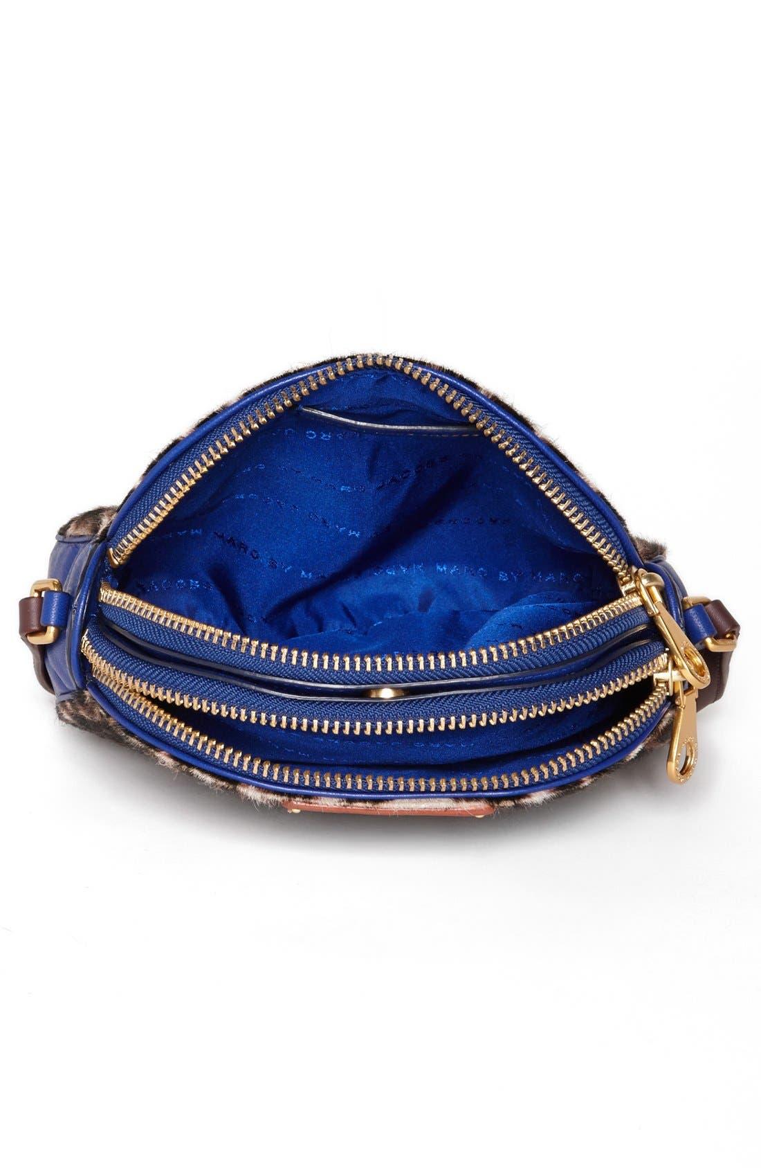Alternate Image 3  - MARC BY MARC JACOBS 'Lola' Calf Hair Crossbody Bag