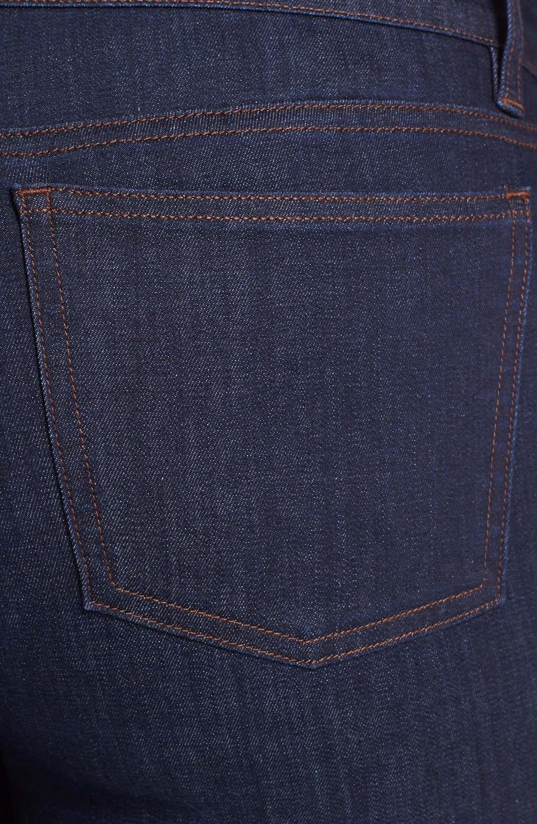 Alternate Image 3  - Eileen Fisher Skinny Jeans (Plus Size)