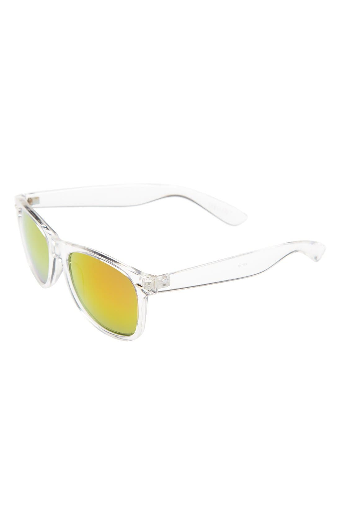 Main Image - BP. Mirrored Sunglasses (Juniors)
