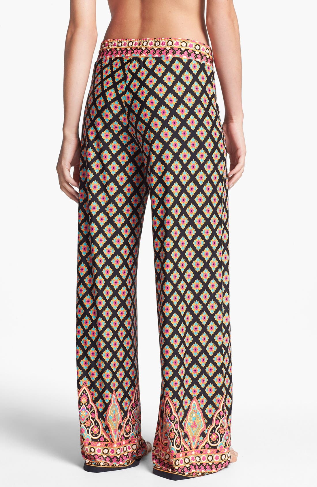 Alternate Image 2  - Nanette Lepore 'Moroccan Medallion' Beach Pants