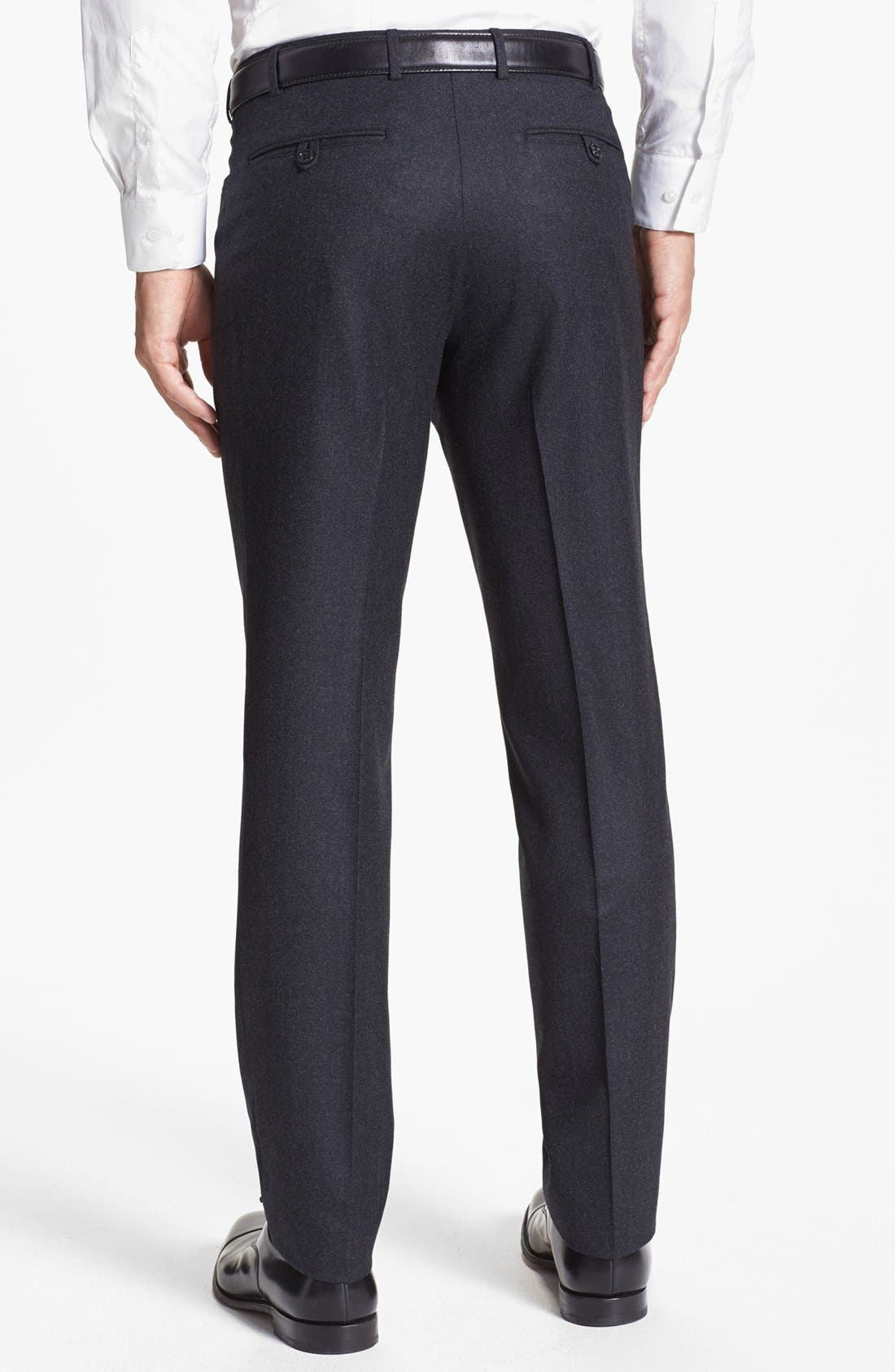 Alternate Image 2  - Canali Five Pocket Wool Trousers