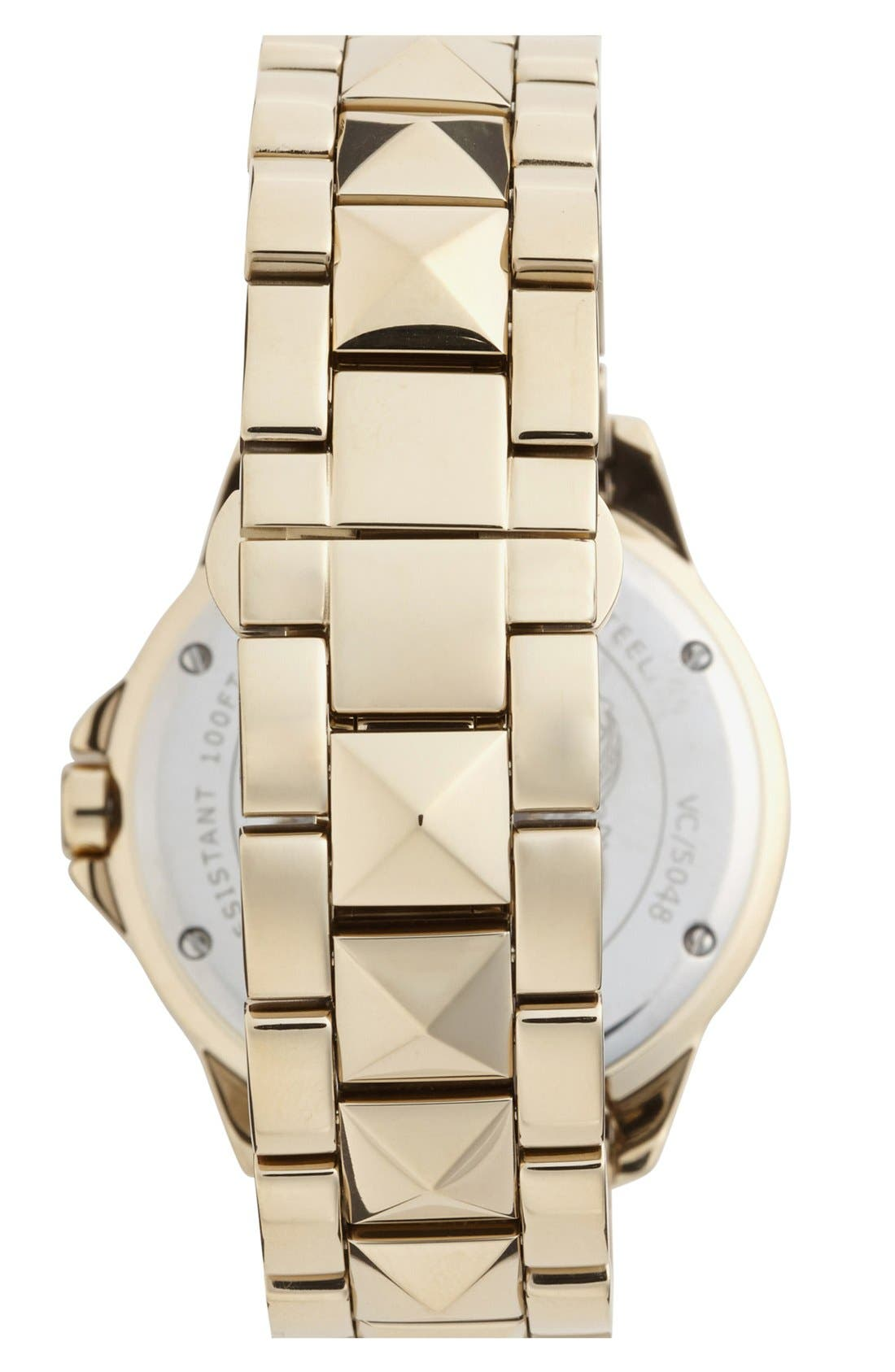 Alternate Image 2  - Vince Camuto Pyramid Bracelet Watch, 38mm