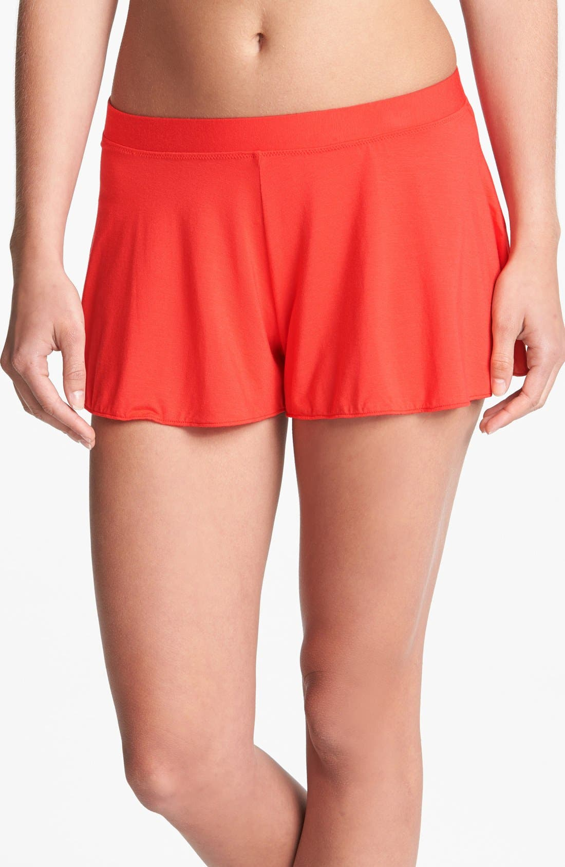 Main Image - Splendid Drapey Knit Shorts